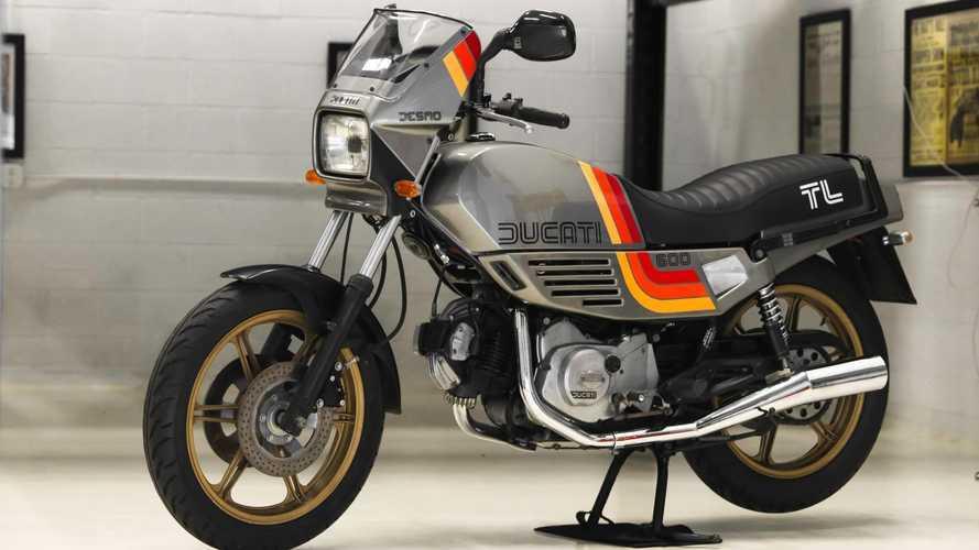 Esta Ducati Pantah de 1985 es una auténtica máquina del tiempo