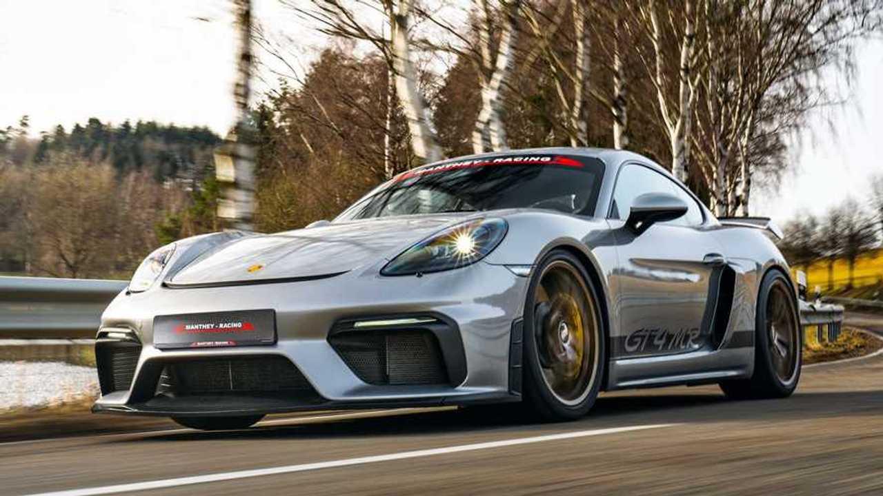 Manthey-Racing optimiert den Porsche 718 Cayman GT4