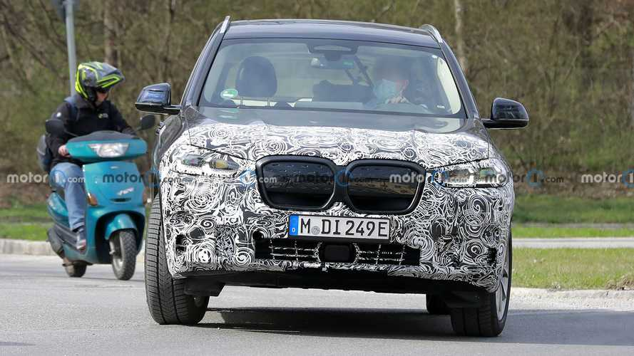 New BMW iX3 Spy Photos