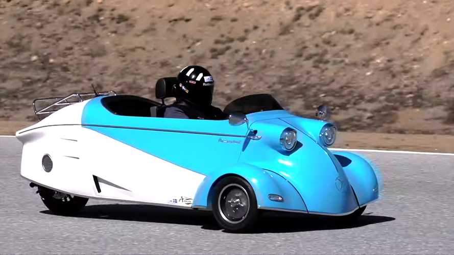 Messerschmitt micro car is reborn as both petrol and EV three-wheeler