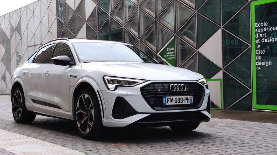 Essai Audi e-tron S Sportback