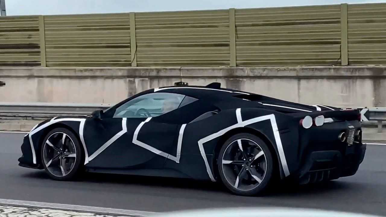 Possible Ferrari V6 Hybrid Prototype Spotted Near Factory