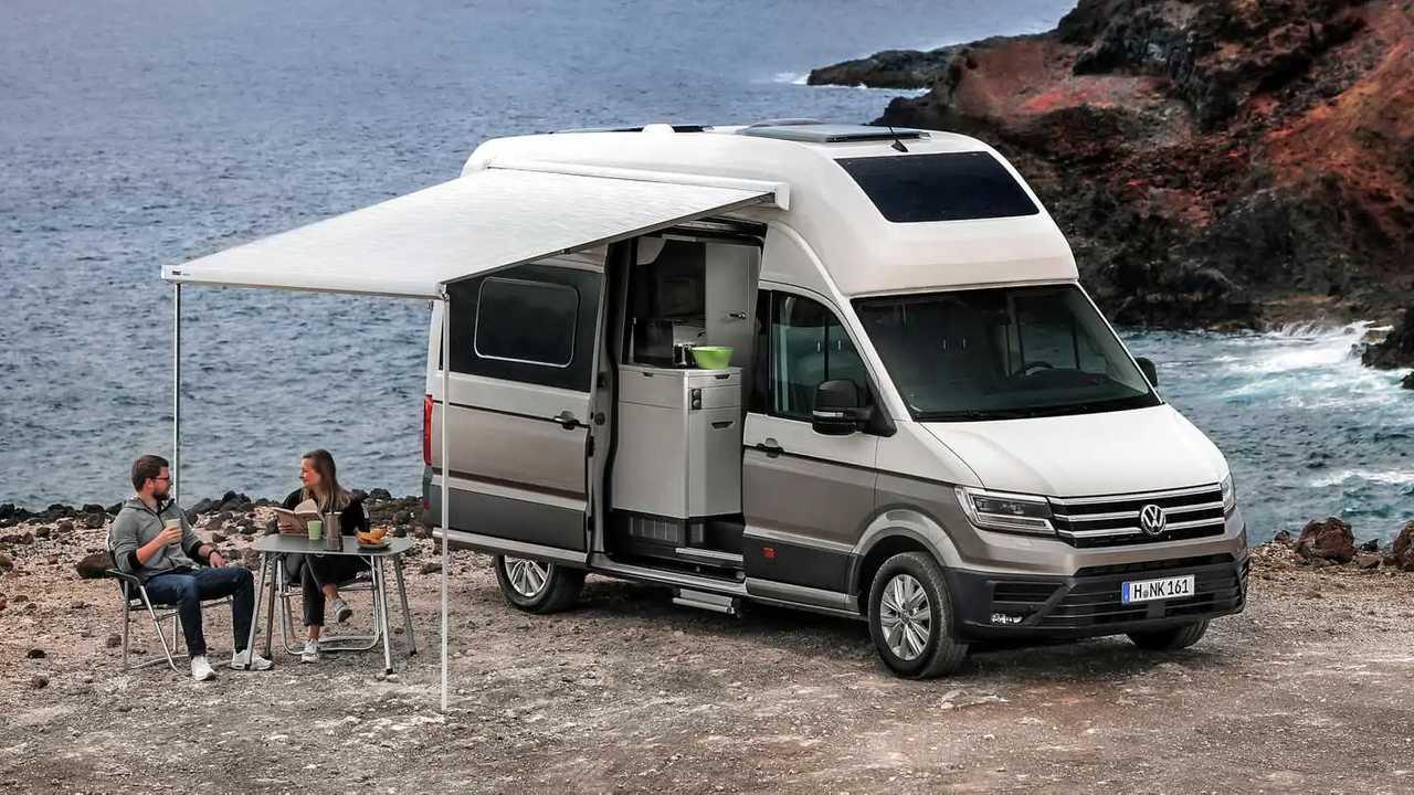 Der VW Grand California ist ein beliebtes Wohnmobil