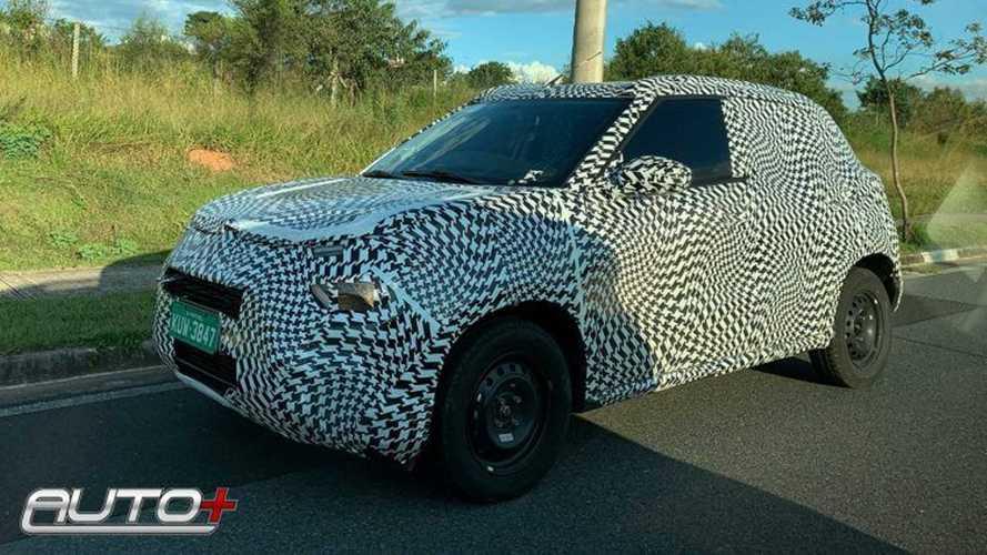 Flagra: Novo SUV pequeno da Citroën será lançado no 2º semestre