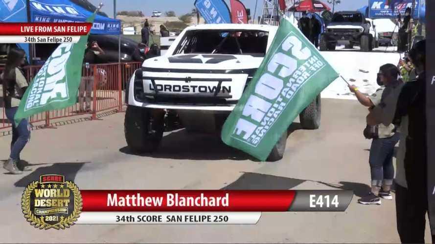 Lordstown Motors Withdraws From SCORE San Felipe 250 Rally