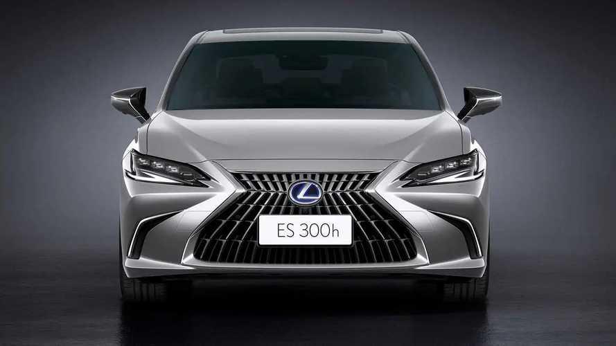 Обновленный Lexus ES (2021)
