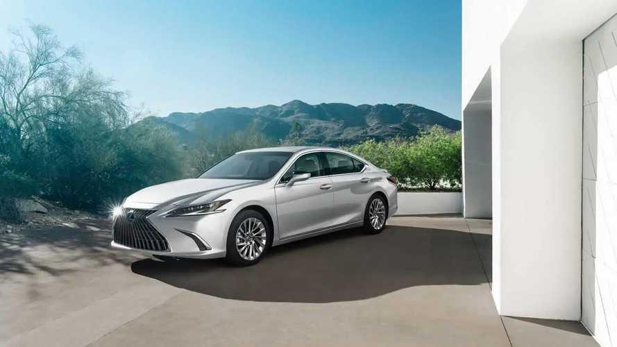 Lexus ES restyling
