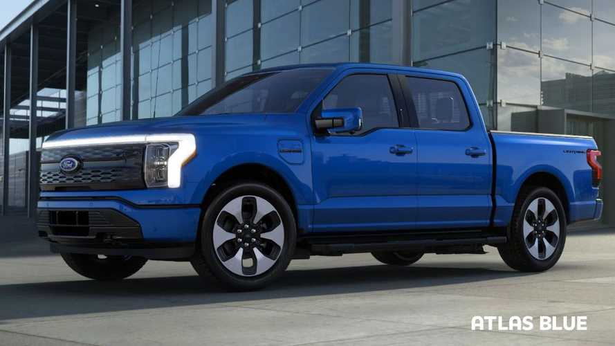 Ford F-150 Ligthning Colors