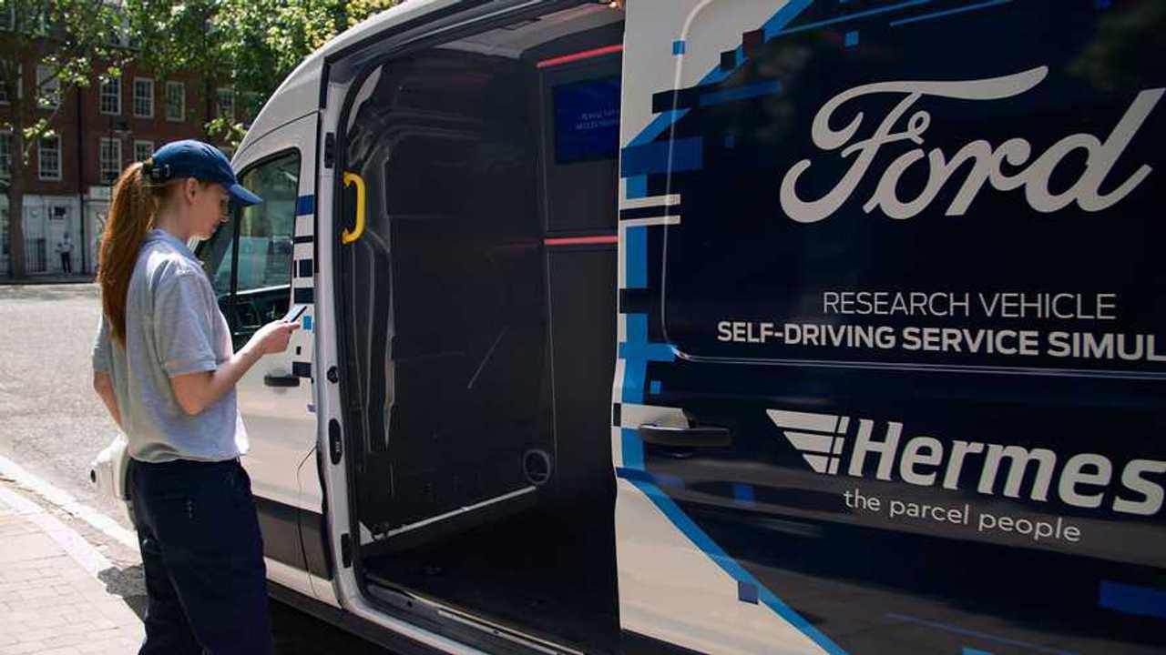 Ford e Hermes, guida autonoma nella logistica