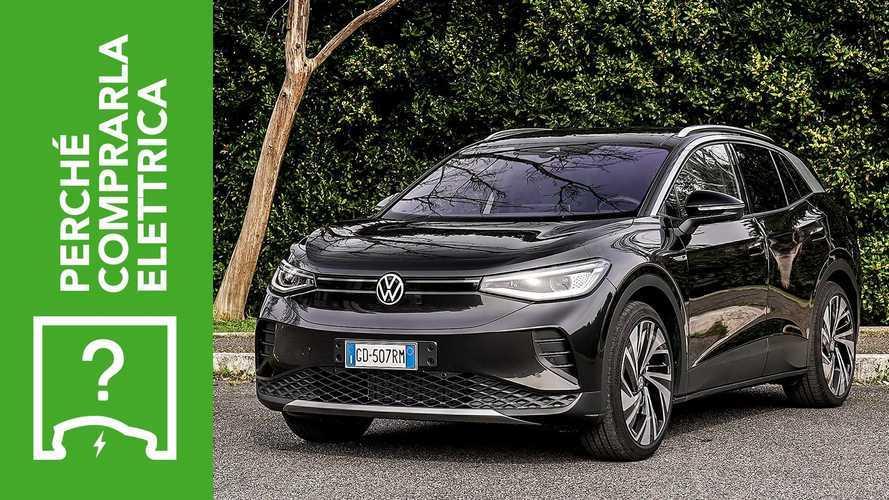 Volkswagen ID.4 (2021), perché comparla elettrica e perché no