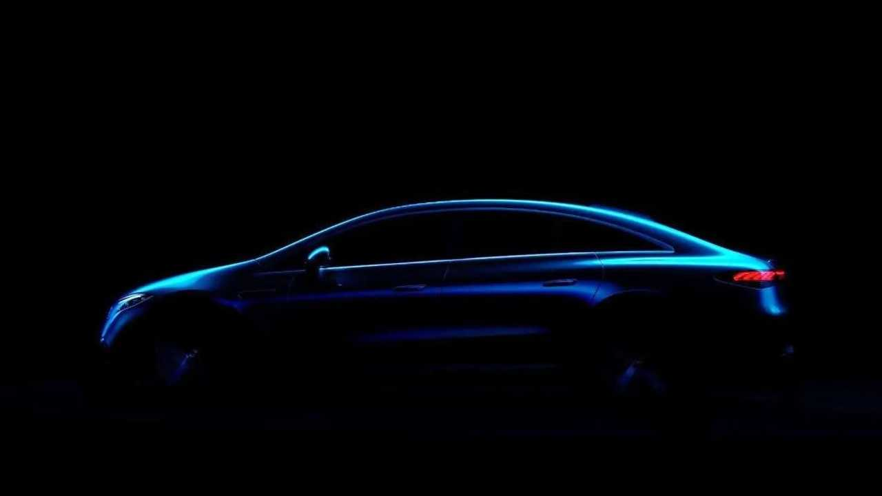 Teaser de la Mercedes EQS