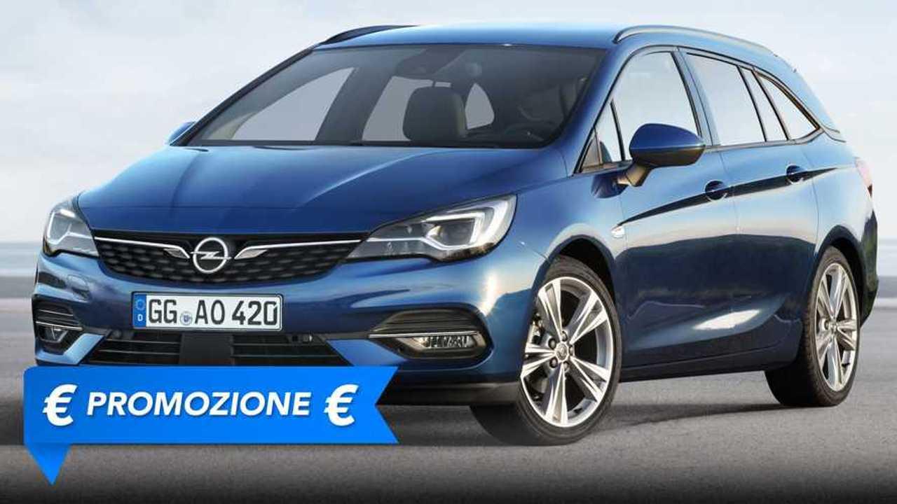 Promozione Opel Astra Sports Tourer giugno 2021