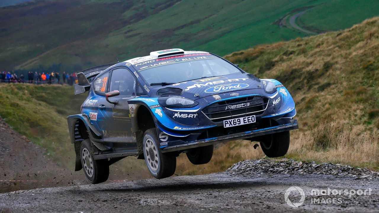 Elfyn Evans, Scott Martin, M-Sport Ford WRT Ford Fiesta WRC at Rally GB 2019