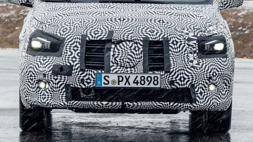 Mercedes eCitan, le prime foto ufficiali del prototipo
