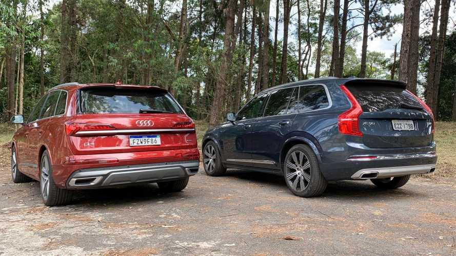 Comparativo: Audi Q7 vs. Volvo XC90