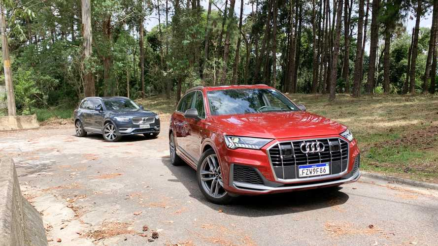 Comparativo Audi Q7 S-Line vs Volvo XC90 Inscription: exigências da alta sociedade