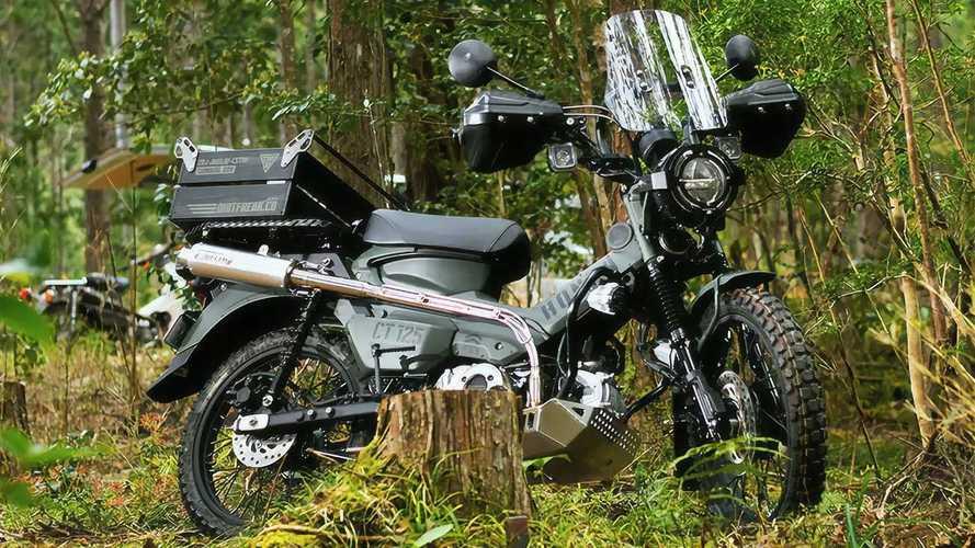 Dirtfreak Honda CT125 Survival ADV Custom Declares Adventure Time