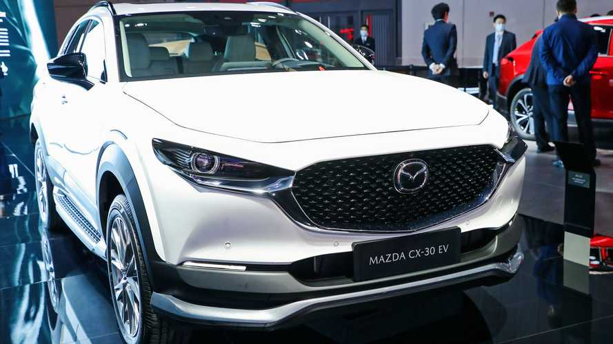 Mazda CX-30 EV debuts as China-only electric crossover