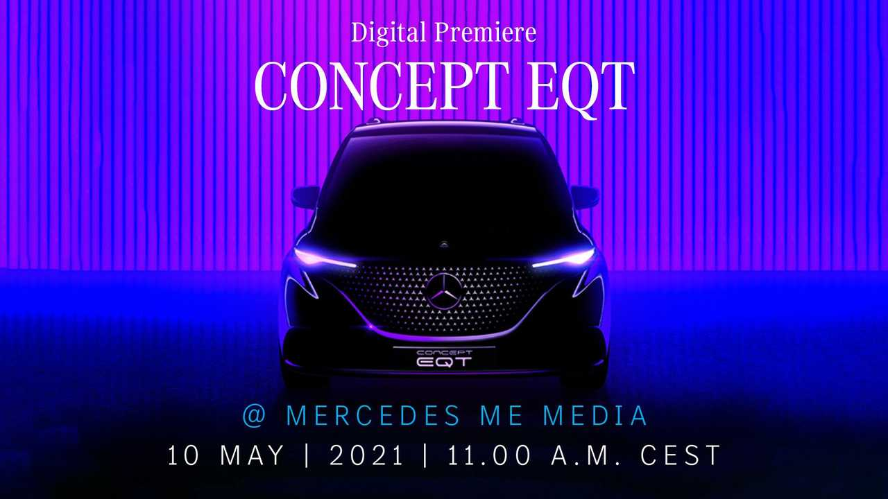 Mercedes-Benz Concept EQT ipucu (teaser) görüntüsü