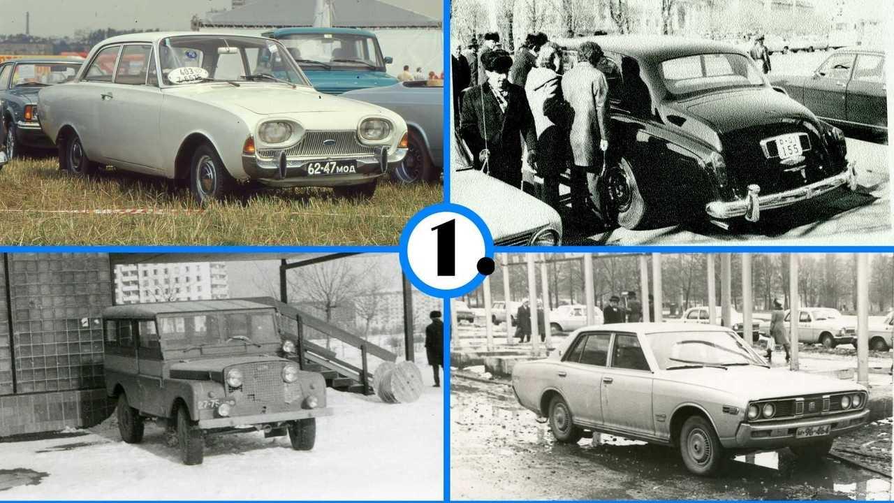Иномарки в СССР: кто, как и почему на них ездил?