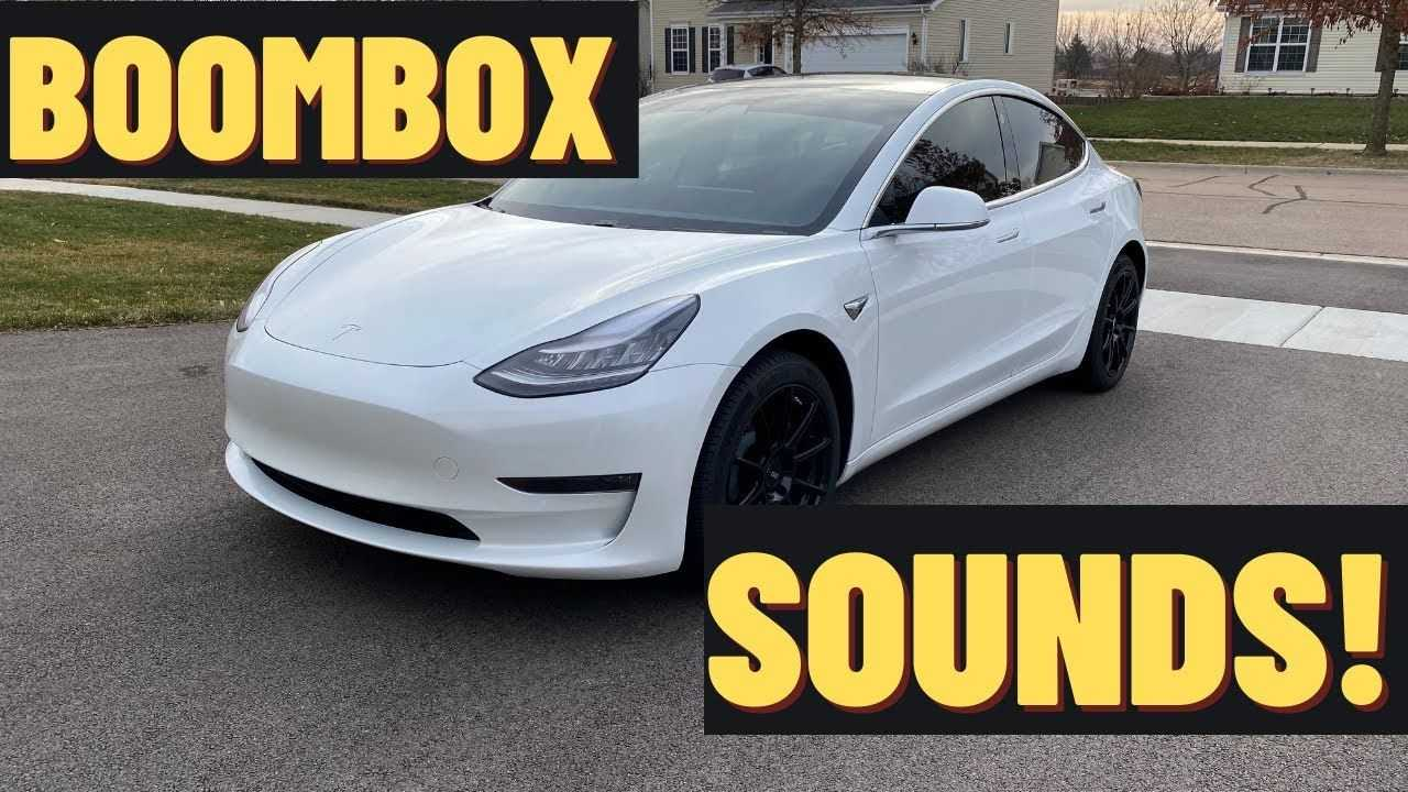 tesla boombox sounds