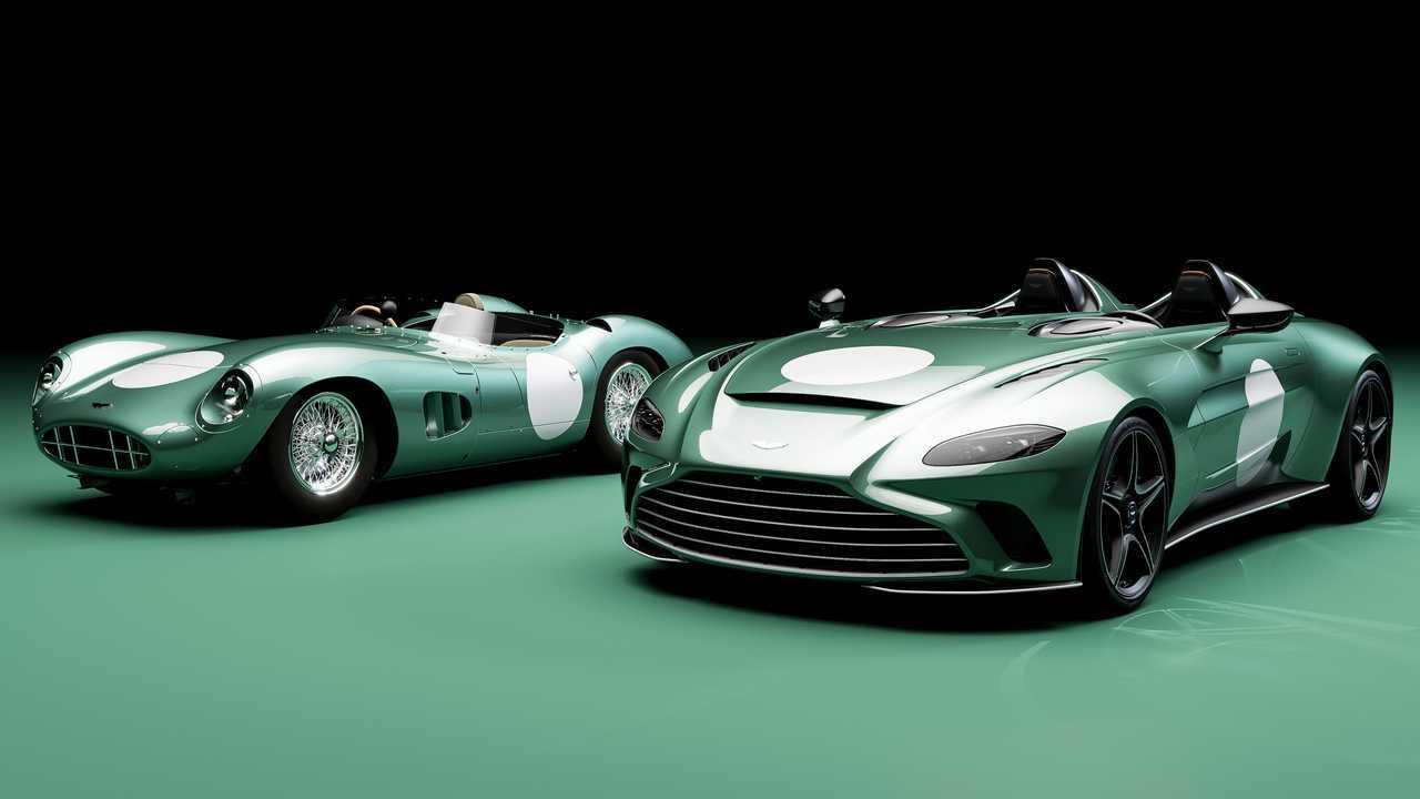 Aston Martin V12 Speedster, il pacchetto DBR1