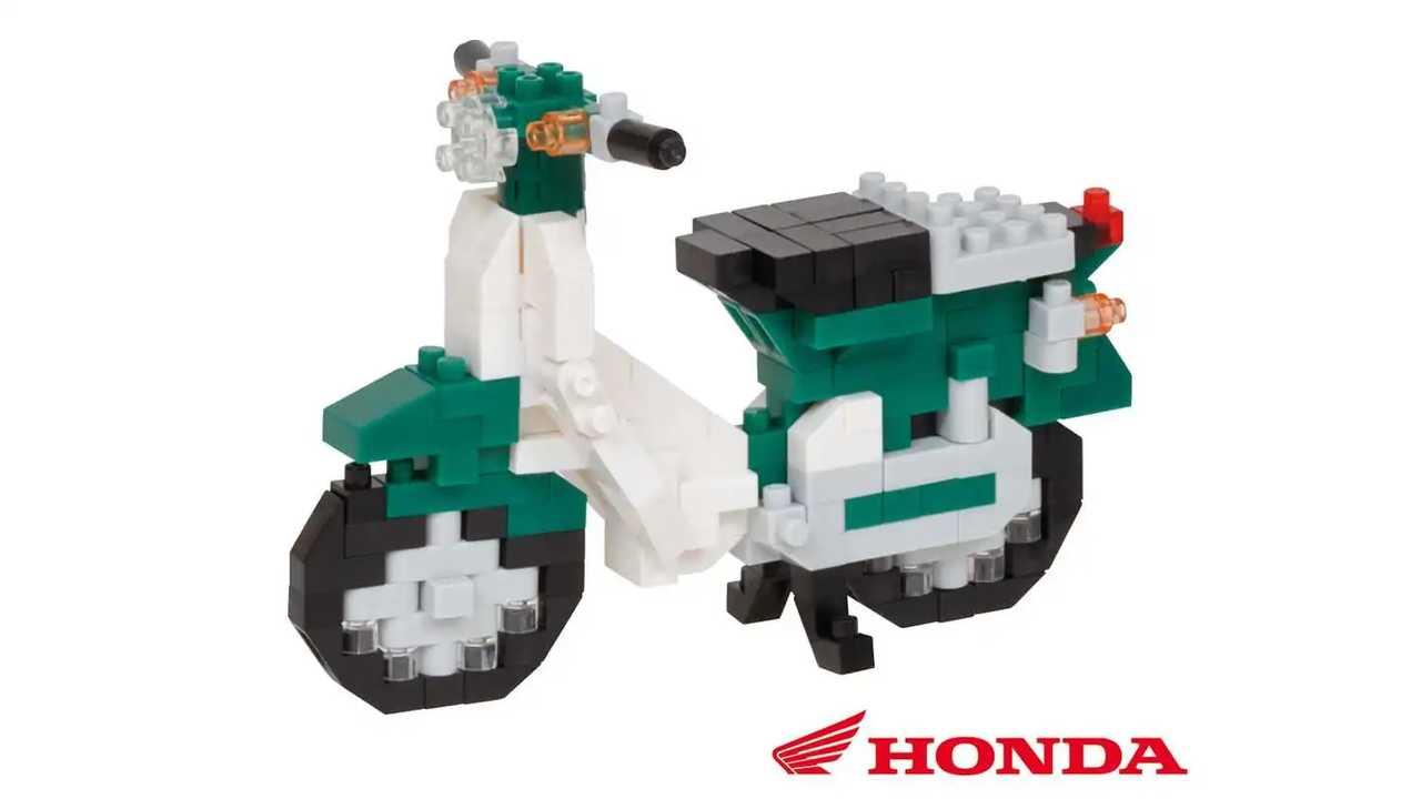 Honda Super Cub Nanoblock Set