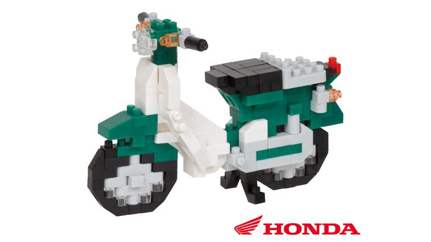 Honda To Release Adorable Super Cub Nanoblock Set