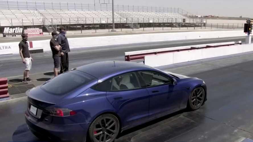 "Tesla Model S Plaid To Make ""Jay Leno's Garage"" TV Debut Nov. 10"