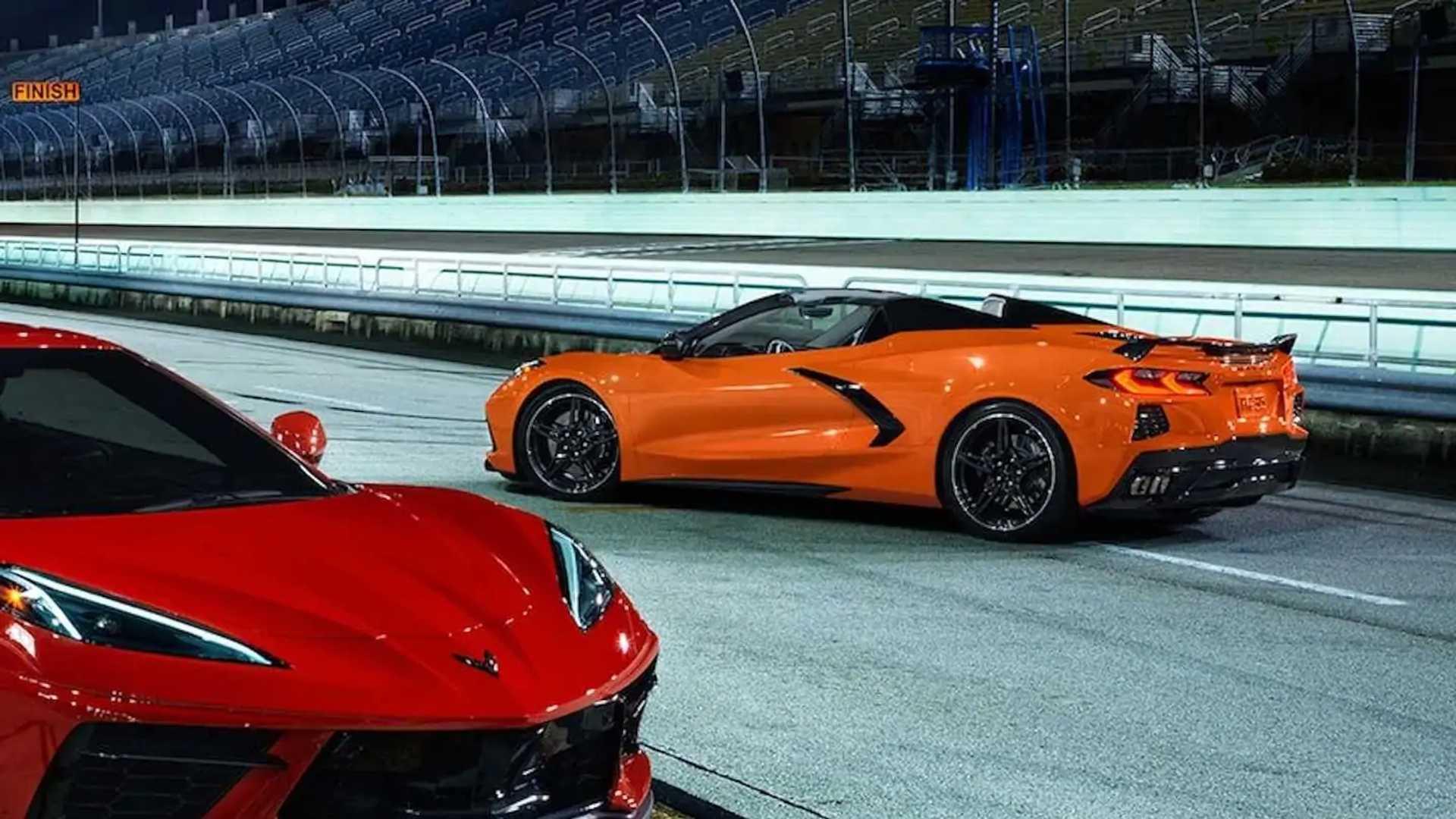 2022 Chevrolet Corvette New Colors - Amplify Orange