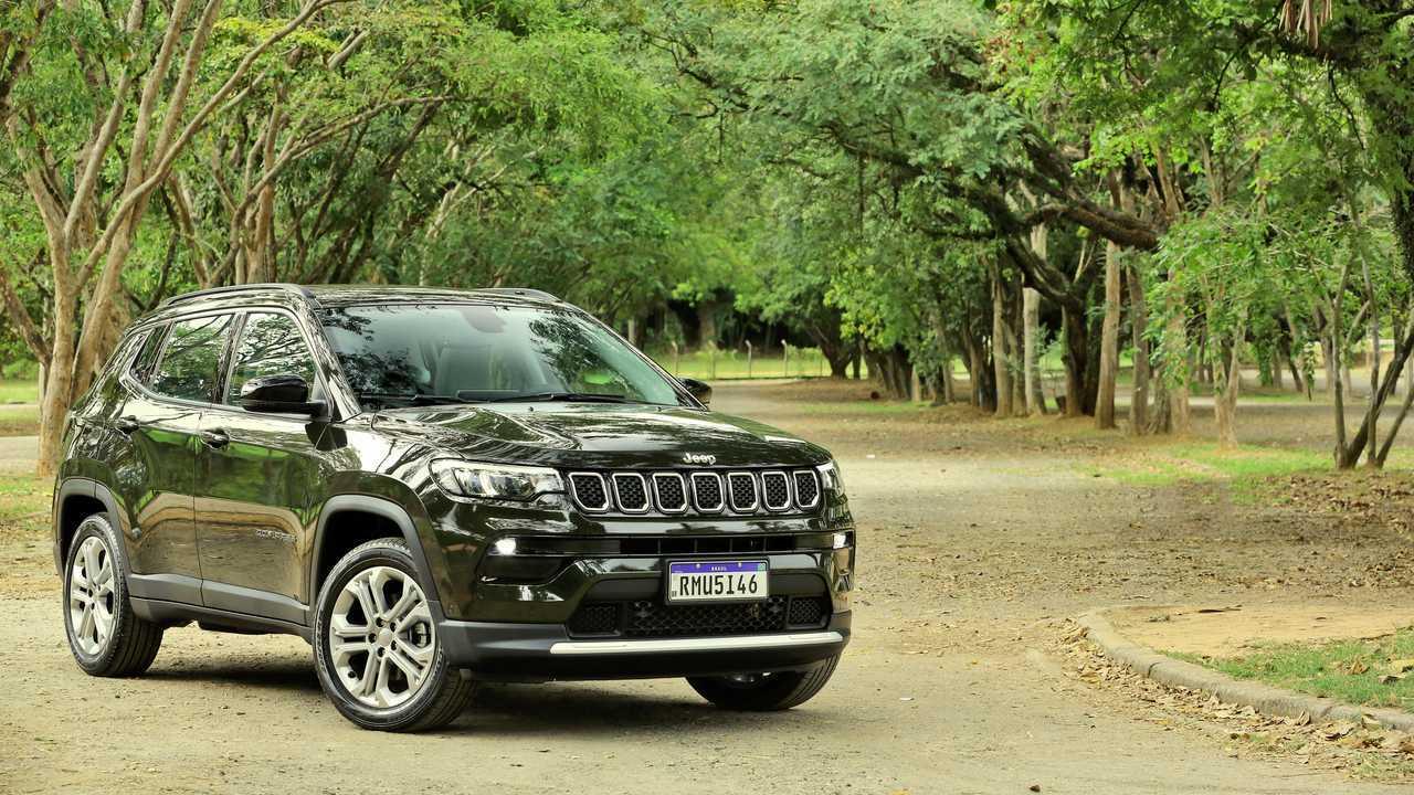 Jeep Compass Longitude 1.3T 2022 (Teste BR)