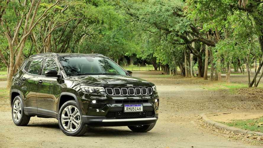 Jeep Compass celebra 315 mil unidades produzidas em 5 anos