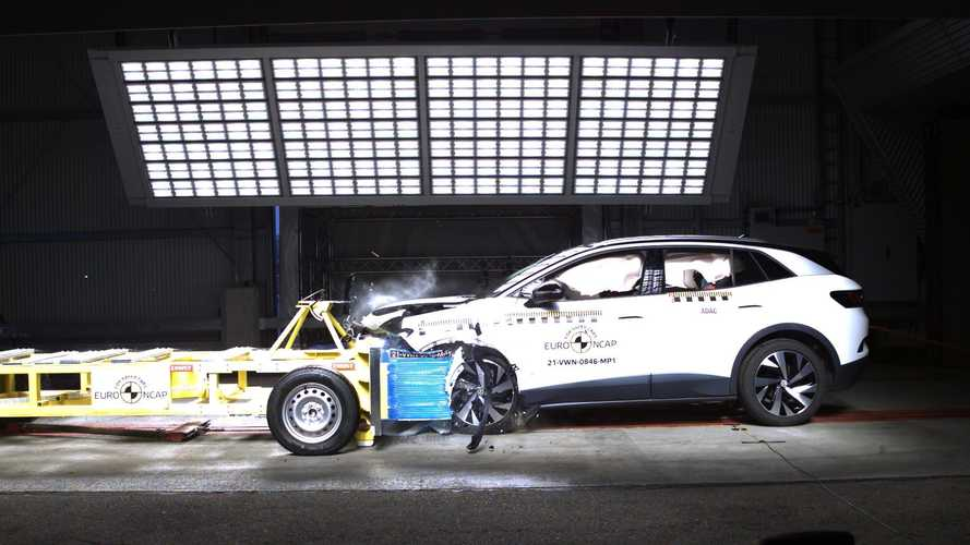 Volkswagen ID.4 And Skoda Enyaq iV Shine In Euro NCAP Tests