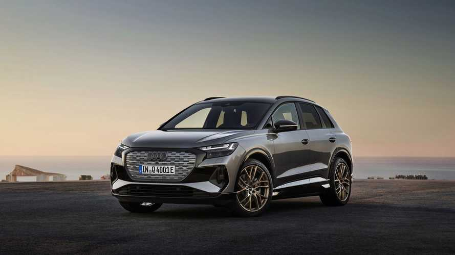 Audi Q4 E-Tron Shows What A More Luxurious VW ID.4 Would Be