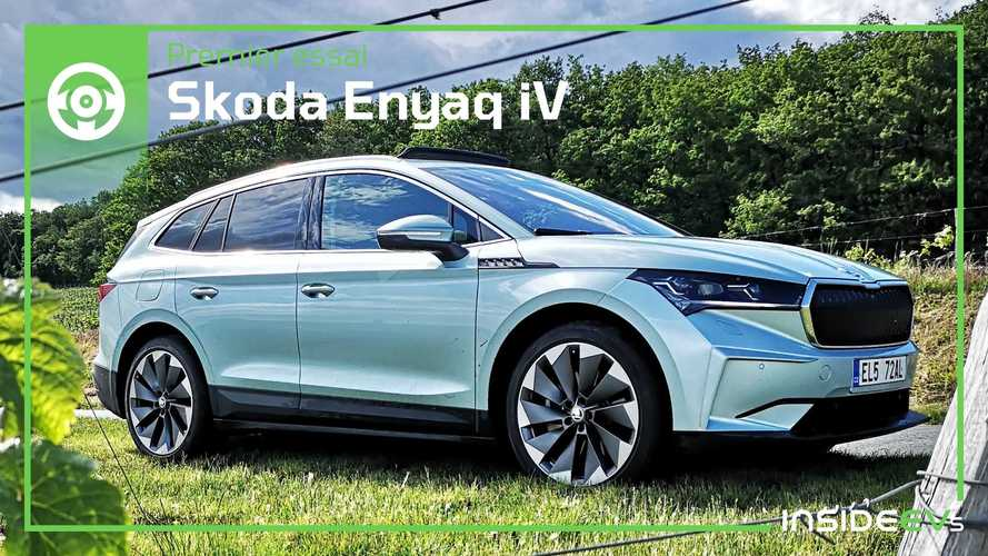 Essai Skoda Enyaq iV - Nouvelle référence des SUV électriques ?