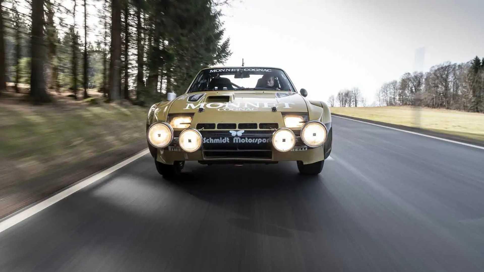 1981 Porsche 924 Carrera GTS Rally