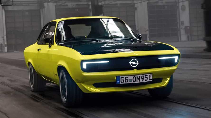 Opel Manta'nın retro tasarımlı elektrikli konsepti tanıtıldı