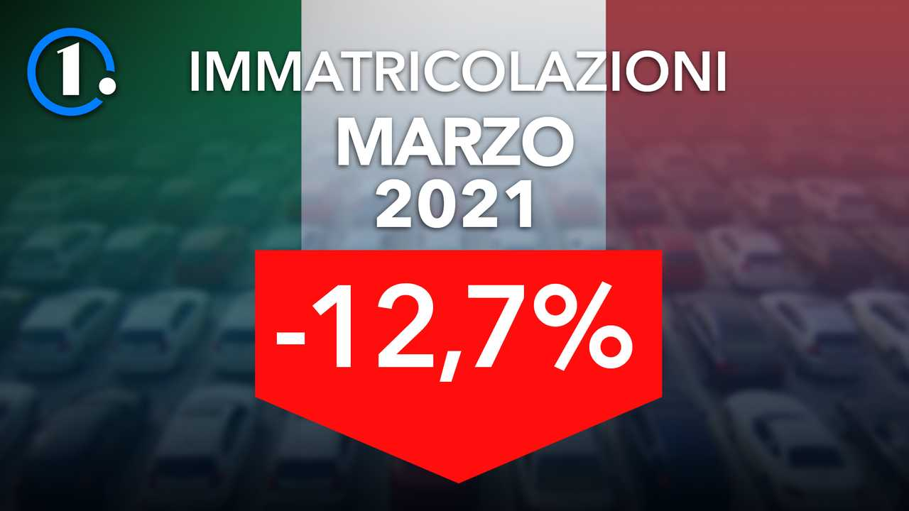 Immatricolazioni auto Italia marzo 2021