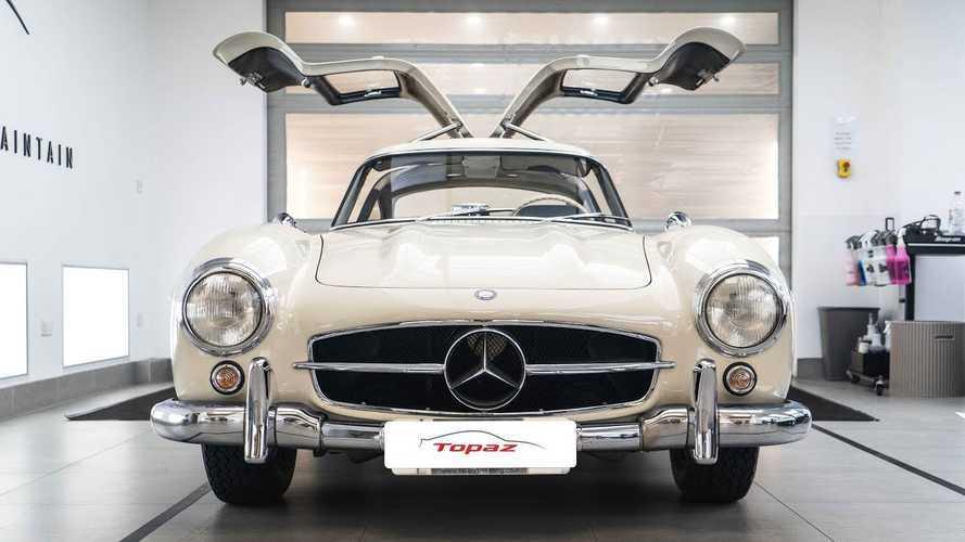 Mercedes 300 SL Gets The Detailer's Pampering It Deserves
