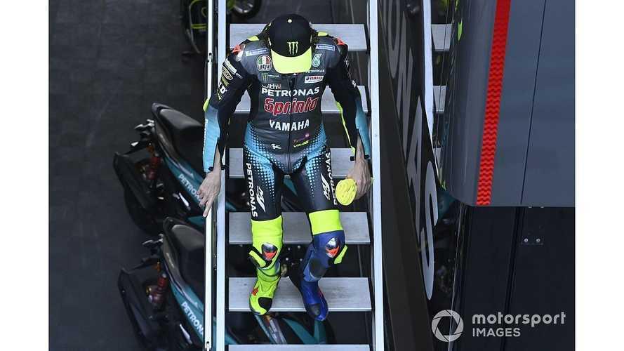 """Valentino Rossi : """"Pas très drôle de se battre pour la 17e place"""""""