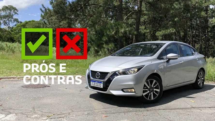 Nissan Versa Advance 2021: Prós e Contras