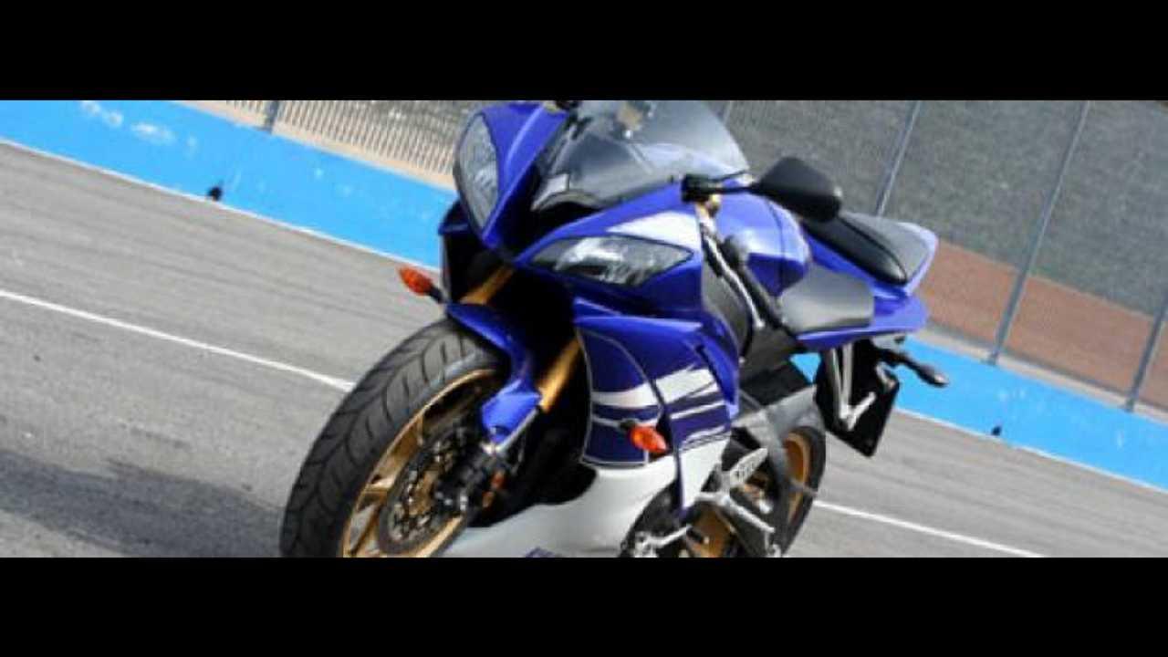 Yamaha R6 2010 @ Franciacorta: test day