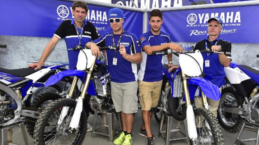 Yamaha Off-road Competition, gamma 2015