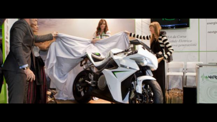 CRP Racing Energica a EICMA 2011