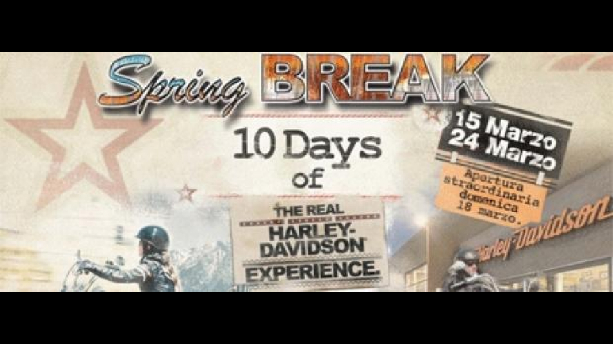 Harley-Davidson Spring Break 2012: 10 giorni all'insegna del divertimento