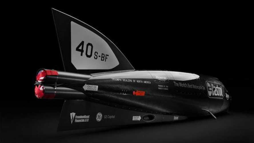 Bonneville Salt Flats: Triumph cerca il record con il Castrol Rocket