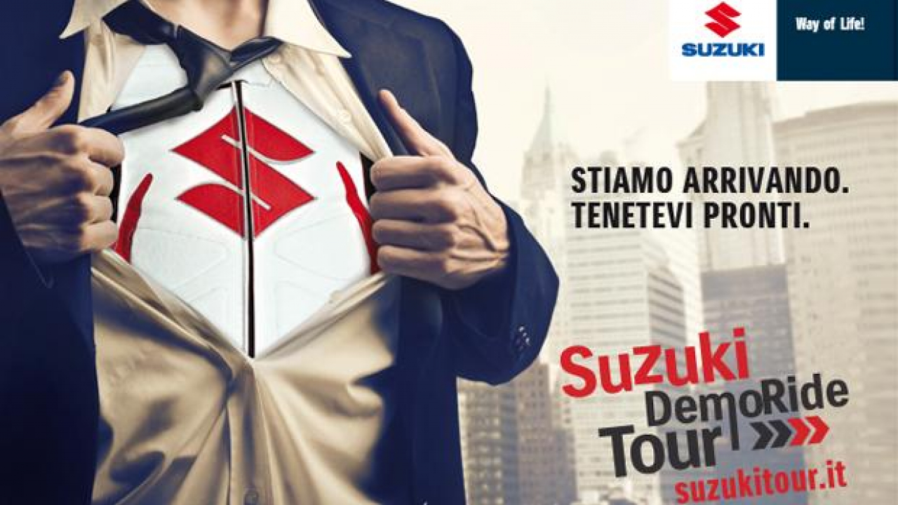 Suzuki Demo Ride Tour 2013: Toscana e Marche