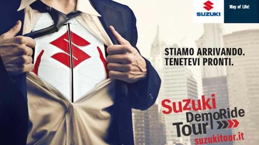 Suzuki Demo Ride Tour 2013: Toscana e Marche