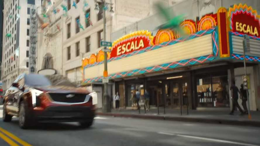 Cadillac Escala possible teaser