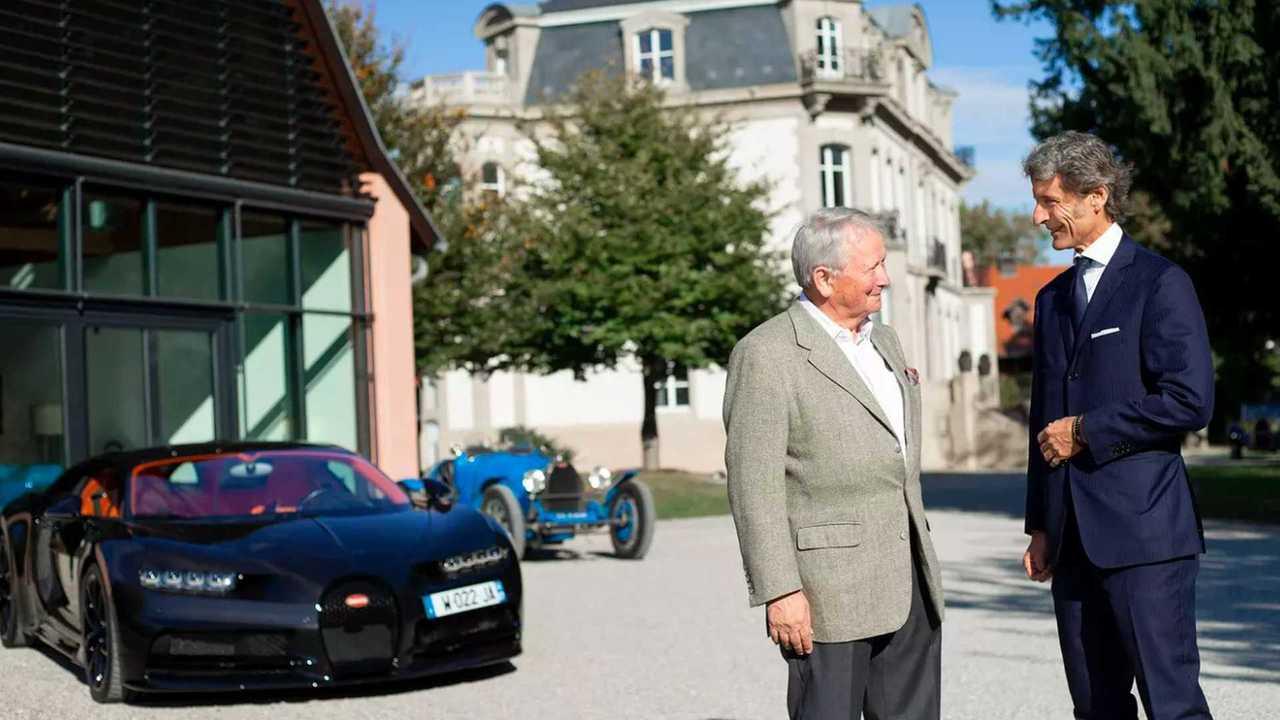 Porsche visite Bugatti
